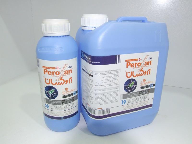 ضد عفونی کننده سطوح بیمارستانی و سطوح با آلودگی بالا 1 لیتری پروکسان S6(موجود است)
